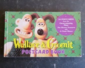 Wallace & Gromit Postcard Book 16 Cards Complete
