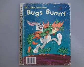 Vintage Little Golden Book:  Bugs Bunny