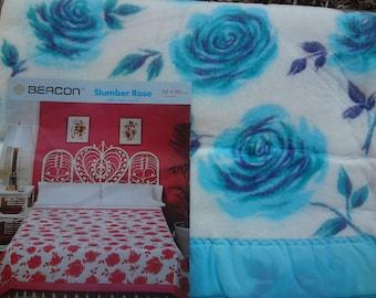 Vintage Acrylic Blanket by Beacon:  Slumber Rose