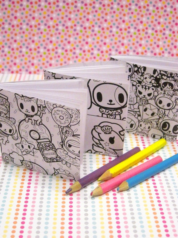 like this item - Tokidoki Donutella Coloring Pages