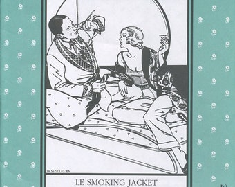 Le Smoking Jacket, Folkwear Pattern 238