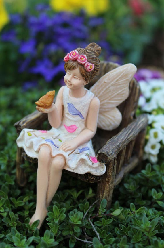 "Fairy Anna (2.75"") for the Fairy Garden"