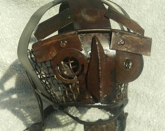 Medieval style confinement/humiliation mask