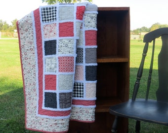 Let's Sew Quilted Throw