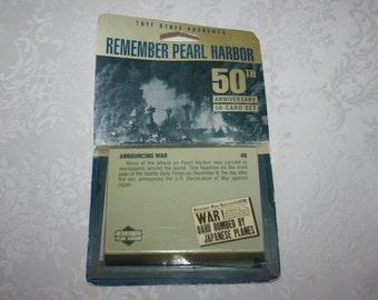 Vintage Tuff Stuff Remember Pearl Harbor 50th Anniversary 50 Card Set 1991
