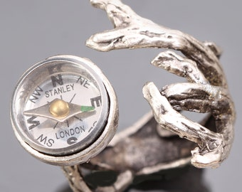 Tree Branch Ring Compass Ring Tree Branch Working Compass Ring