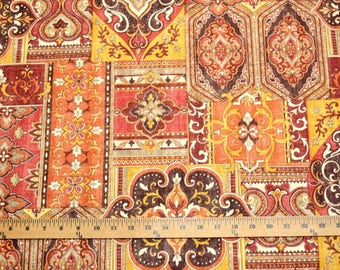 Covington fabric Hamadi 738 Sunset Patchwork