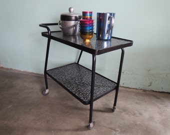 MID CENTURY MODERN Retro Bar Cart (Los Angeles)