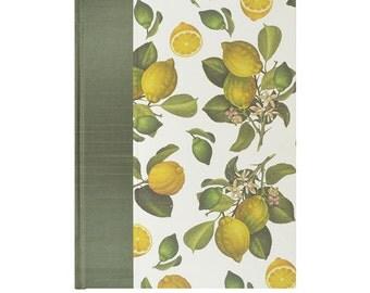 Recipe Book Blank Citron