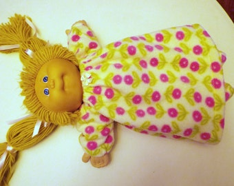 Cabbage Patch Doll Nightgown and Slippers