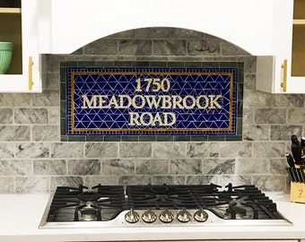 NYC Mosaic Install for Bathroom  /  Kitchen  /  Backsplash / Floor - Mosaic Install - Custom Street Address