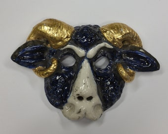 LA Rams St Louis Rams - earthenware lamb mask
