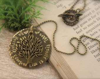 Tree of Life Be Yourself Necklace