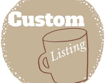 Wedding Registry - Custom MR and MRS mug set - A&N 1.6.18