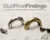 4pcs 10mm ZINC SCREW BACK D-ring Purse Hardware Finding for Purse Ring, Clasps Hook Ring dr-screw2 / High Quality
