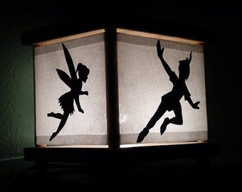 Peter Pan Night Light Decor