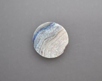 Chalcedony Drusy Cabochon