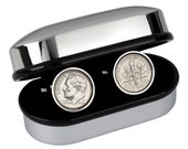 20th Anniversary Gift - Lucky US 1997 Coin Cufflinks - Includes gift box - 100% satisfaction