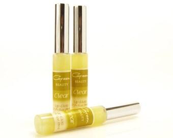 Lip Gloss, Clear, Lip Gloss, Lip Color, Mineral Lip Gloss, Lip Tint, Natural Cosmetics, Lipgloss, Liquid Lip Gloss, Glossy Lips, Makeup