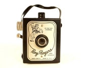Vintage Roy Rogers and Trigger 620 Snap Shot Camera 1950s Collectible Roy Rogers Camera, Mid Century Camera Photo Prop