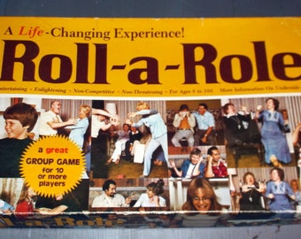 1976 Roll-a-Role A Life-Changing Experience Game from the Ungame People a Great Group Game