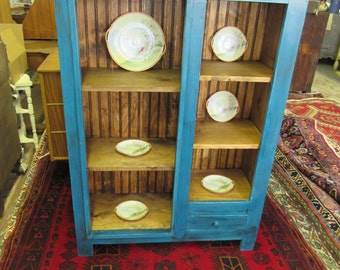 Cottage style bookcase or storage in Riptide..