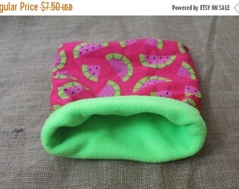 BLOWOUT SALE... MEDIUM Strawberry pouch for small pocket pets- guinea pigs, rats, rodents, hedgehogs...