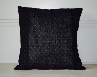 Japanese Boho Indigo Cushion Cover 16""