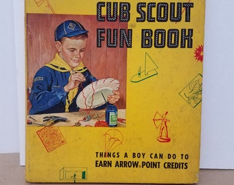 Vintage Cub Scout Fun Book