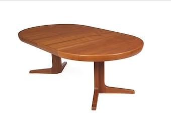 RESERVED-Danish Modern Teak Extendable Dining Table