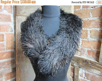 On Sale Rare ostrich plume large millinery feather trim Turn of the century Hat 467