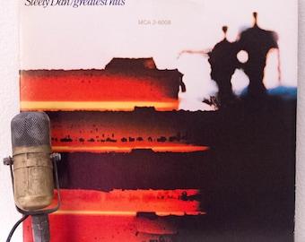 "ON SALE Steely Dan Vintage Vinyl LP Record Album Donald Fagen Steely Dan ""Greatest Hits: 1972-1978"" (1978 Mca with ""Peg"", ""Reeling In The Ye"