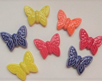 Moaic Tiles-butterflys-7 handmade Butterfly tiles, mosaic ceramic tiles