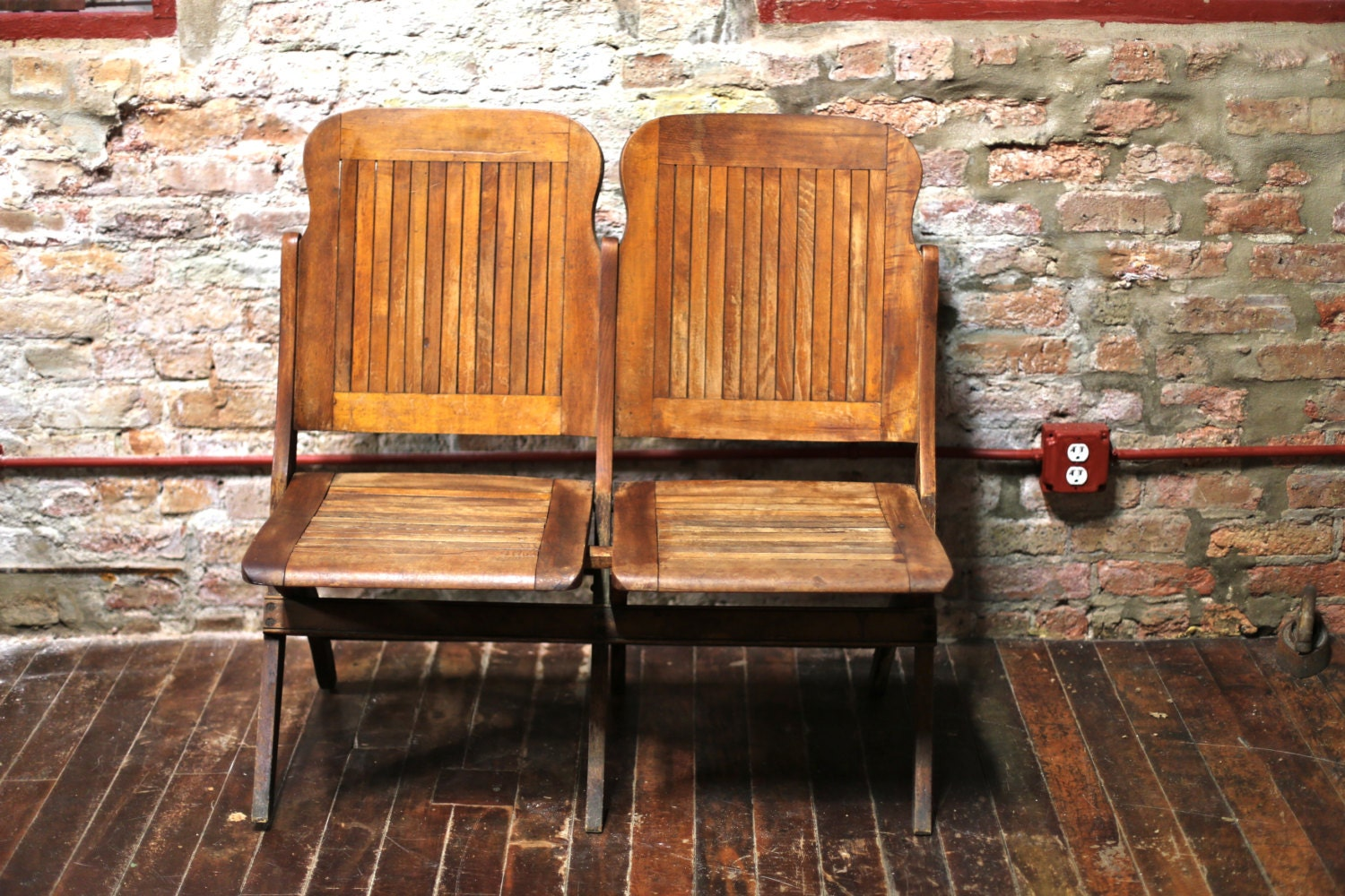Antique Folding Theater Chairs Wooden Theater Chairs
