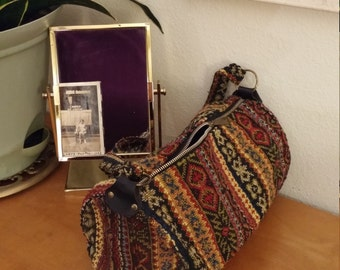 Vintage Tapestry Bag Purse