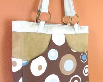 Bea #14  Designer Fabric Medium Purse, Ultra Suede Purse, Purses, Purse, Bags, Bag, Tote, Totes, Shoulder Bag, Shoulder Bags, Handbag, Gifts