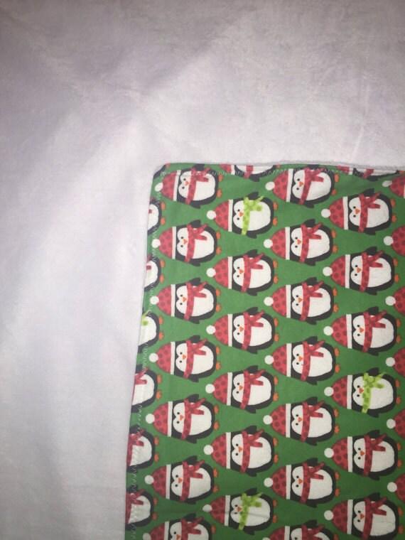 Penguin Puppy Blanket