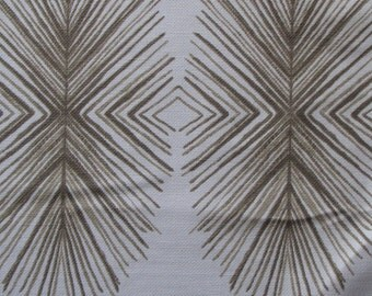 TULUM SAND  ikat designer, drapery/bedding/upholstery fabric