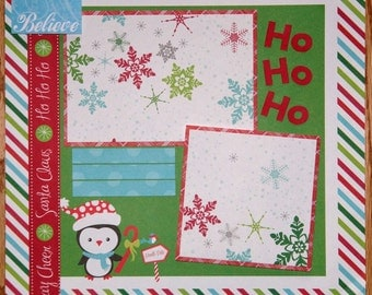 2016 Christmas Album 2016 Holiday Scrapbook Album Custom Made Christmas Scrapbook Album 12 x 12 Scrapbook Album Scrapbooker for Hire