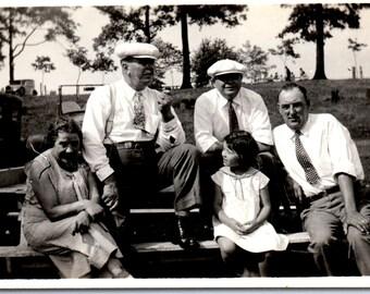 Vintage Photos - Guys in Hats - Vernacular, Found Photo (A)