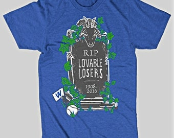 RIP Lovable Losers Chicago Cubs T-Shirt