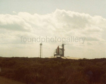 Vintage Photo, Cape Canaveral Launch Site, Florida, Color Photo, Found Photo, Travel Photo, Vacation Photo, Vernacular Photo