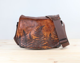 Limited Edition! New Satchel Ferns -  Leather Camera Bag DSLR - PRE-ORDER