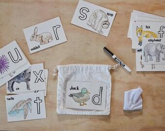 Children's Handwriting Practice Kit (print letters)