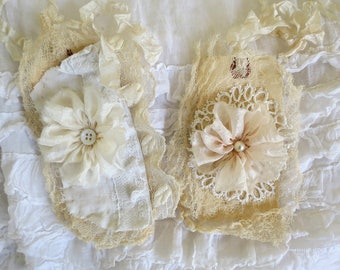 Lace Embellished Tags