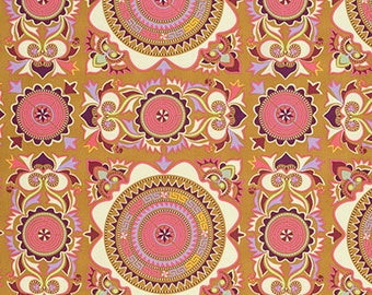 Mantra in Linen Dream Weaver Fabric by Amy Butler - Half Yard