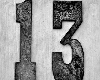 Number photo date photo number 13 Print ONLY digital download photography numbers