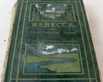 vintage book Rebecca of Sunnybrook Farm 1904?