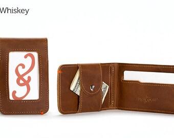 The Slim Fold Mens Leather Wallet - Whiskey   Mens wallet, Slim Wallet, Minimalist Wallet