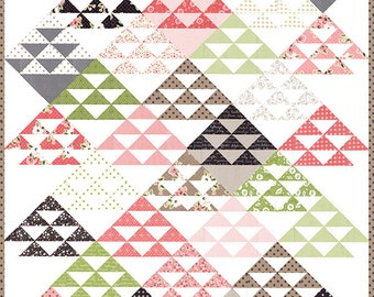Olive's Flower Market - Homestead Quilt Pattern by Lella Boutique